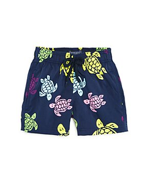 Vilebrequin - Boys' Turtle Print Swim Trunks - Little Kid, Big Kid