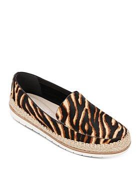 Kenneth Cole - Women's Jaxx Zebra-Print Espadrille Loafers