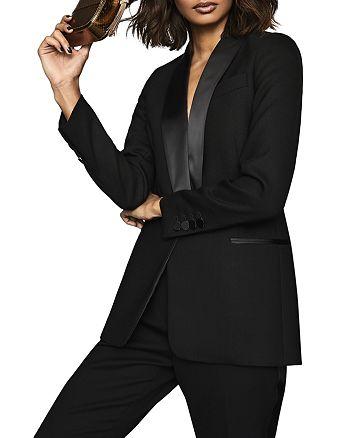 REISS - Ally Tuxedo Jacket