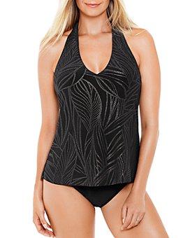 Magicsuit - Trish Sparkle-Leaf Tankini Top