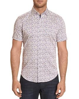 Robert Graham - Maxcy Short-Sleeve Shirt, Bloomingdale's Slim Fit