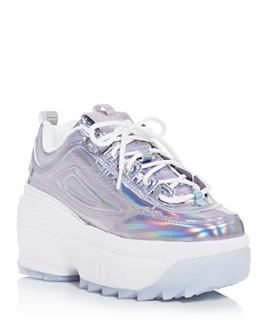 FILA - Women's Disruptor II Platform Wedge Low-Top Sneakers