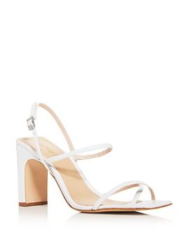 SCHUTZ - Women's Amaia Block-Heel Strappy Slingback Sandals