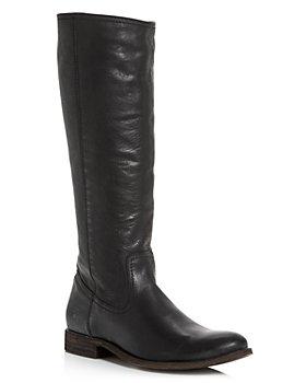 Frye - Women's Melissa Stud Back Zip Tall Boots