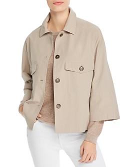 Weekend Max Mara - Pontiac Flap-Pocket Cotton Jacket
