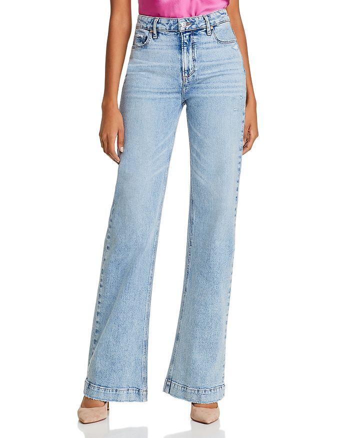PAIGE - Leenah Wide-Leg Jeans in Liza