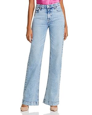 Paige Leenah Wide-Leg Jeans in Liza-Women