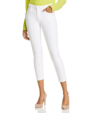 Mother The Looker Crop Skinny Jeans in Fairest Of Them All
