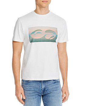 FRAME - Abstract Sunset Graphic Tee
