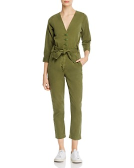 Joie - Sashan Belted Cropped Jumpsuit