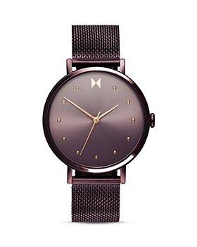 MVMT - Dot Purple Mesh Bracelet Watch, 36mm