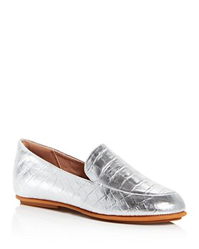 FitFlop - Women's Lena Croc-Embossed Loafers