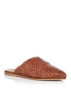 St. Agni - Women's Caio Woven Pointed-Toe Mules