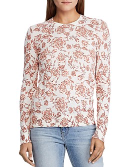 Ralph Lauren - Floral Crewneck Sweater