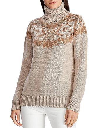 Ralph Lauren - Fair Isle Turtleneck Sweater