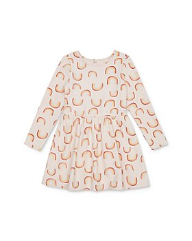 Peek Kids - Girls' Maddie Rainbow Print Dress - Little Kid, Big Kid