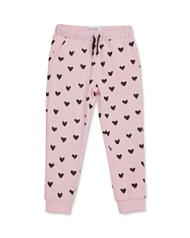 Sovereign Code - Girls' Della Heart Print Jogger Pants - Little Kid, Big Kid