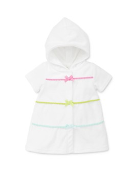 Little Me - Girls' Bow Detail Swim Cover-Up - Baby