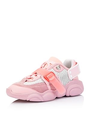 Moschino Women\\\'s Mixed Media Low-Top Sneakers