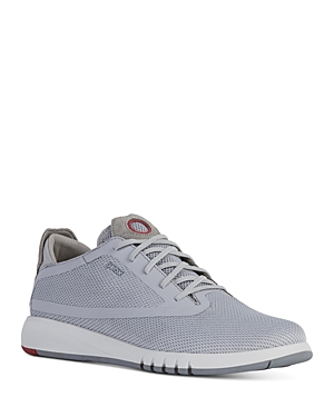 Geox Men's Aerantis Mesh Knit Low-Top Sneakers