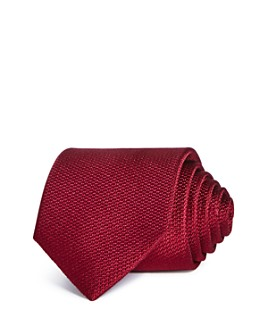 The Men's Store at Bloomingdale's - Textured Solid Silk Classic Tie - 100% Exclusive