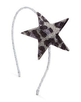 GiGi - Girls' Cheetah Star Crystal Headband - 100% Exclusive