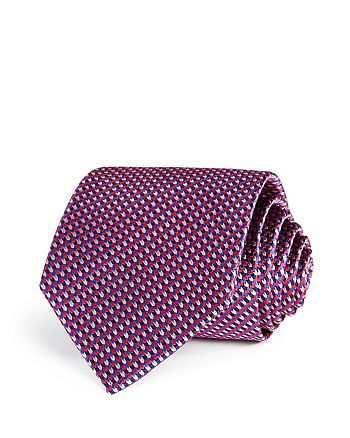 The Men's Store at Bloomingdale's - Micro Chevron Silk Classic Tie - 100% Exclusive