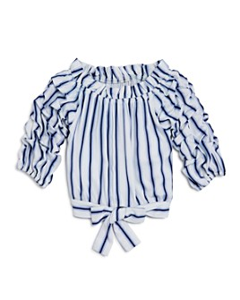 Habitual Kids - Girls' Veda Striped Top - Big Kid