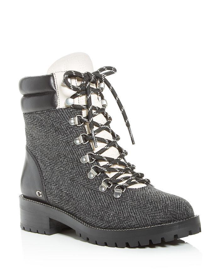 COACH - Women's Lorren Combat Boots