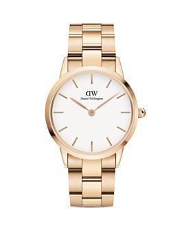 Daniel Wellington - Rose Gold-Tone Link Bracelet Watch, 36mm