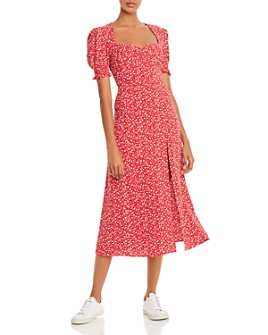 Bardot - Millie Puff-Sleeve Midi Dress