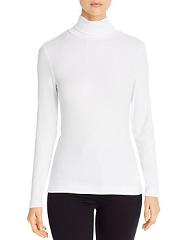Three Dots - Ribbed Turtleneck Tee