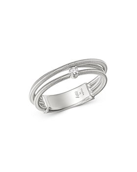 Marco Bicego - 18K White Gold Bi49 Diamond Multi-Row Band - 100% Exclusive