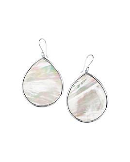 IPPOLITA - Sterling Silver Ondine Mother-of-Pearl Teardrop Earrings