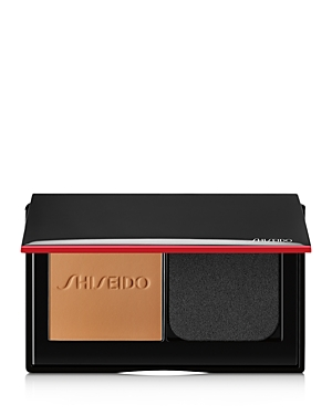 What It Is: A Shiseido first in foundation, with ActiveForce technology that self-refreshes nonstop so you maintain a just-applied, flawless finish that lasts 24 hours. What It Does: This long-wear creamy, powder foundation synchronizes with skin and helps resist heat, humidity, oil and motion. Apply wet or dry for customized coverage and a natural finish. Skin looks and feels fresh all day. Weightless comfort. Breathable. Blendable. Buildable. - Smudge-proof - Immediate hydration - 8-hour shine