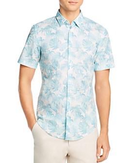 BOSS - Ronn Slim Fit Short-Sleeve Shirt - 100% Exclusive