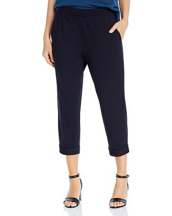 Eileen Fisher Petites - Slouchy Cropped Pants