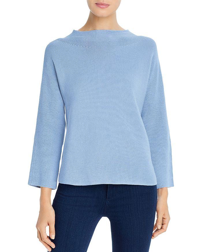 Eileen Fisher - Silk-Blend Funnel Neck Sweater