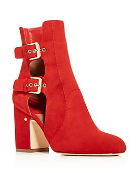 Laurence Dacade - Women's Amanda Cutout High Block-Heel Booties