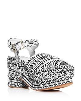ANTOLINA - Women's Woven Platform Sandals