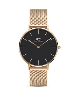 Daniel Wellington - Petite Melrose Mesh Bracelet Watch, 36mm