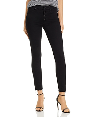 Mother The Pixie Ankle Fray Skinny Jeans in Not Guilty-Women