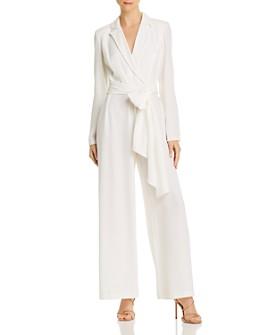 Donna Karan - Belted Blazer Jumpsuit