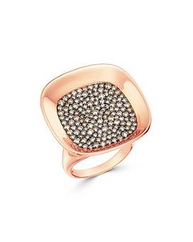 Roberto Coin - 18K Rose Gold Carnaby Street Cognac Diamond Ring
