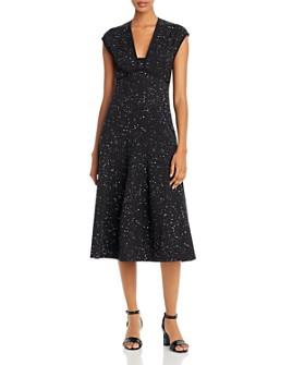 Narciso Rodriguez - Flecked A-Line Midi Dress