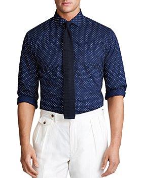 Polo Ralph Lauren - Classic Fit Dot Poplin Shirt