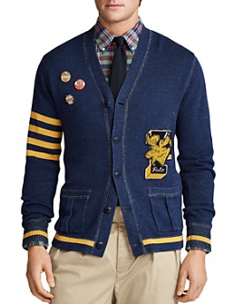 Polo Ralph Lauren - Letterman Cardigan Sweater