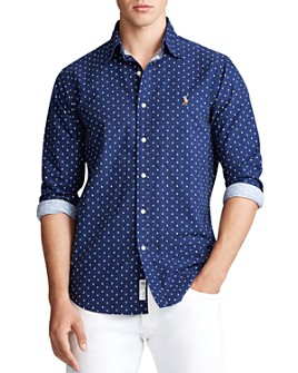 Polo Ralph Lauren - Classic Fit Anchor-Print Shirt