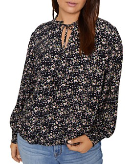 Sanctuary Curve - Resolution Floral Print Blouse