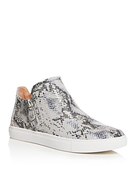 Gentle Souls by Kenneth Cole - Women's Lowe Snake-Embossed Mid-Top Sneakers